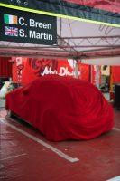 リタイアを余儀なくされたクレイグ・ブリーンのシトロエンC3 WRC