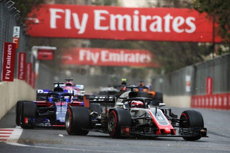 F1   【動画】セーフティカー導入時にグロージャンがクラッシュ/F1アゼルバイジャンGP決勝