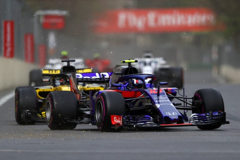 F1 | ホンダ田辺TD「トップスピード不足に苦しんだ。さらなるパワー向上が必要」F1アゼルバイジャンGP日曜