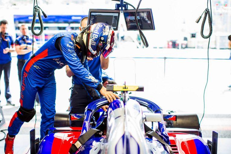 F1   ガスリー「入賞できたはずのレースだったが、ストレートで防御できず、最後には事故も」トロロッソ・ホンダ F1アゼルバイジャンGP日曜