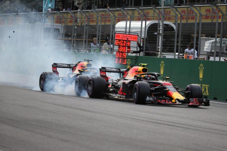 F1   レッドブル同士のクラッシュが、今のF1マシンが抱える空力的問題を浮き彫りに