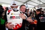 ラリー/WRC | WRC:トヨタ、5戦目で今季初優勝。「これほどの強さを発揮できるとは夢にも思わず」とマキネン