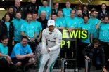 F1 | ハミルトン今季初勝利「うれしいが、自分らしい勝ち方でなかったのが残念」メルセデス F1アゼルバイジャンGP日曜
