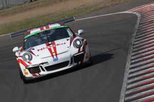 31号車Nissoku Porsche 991GT3Cup(JACK/影山正美/富田竜一郎組)