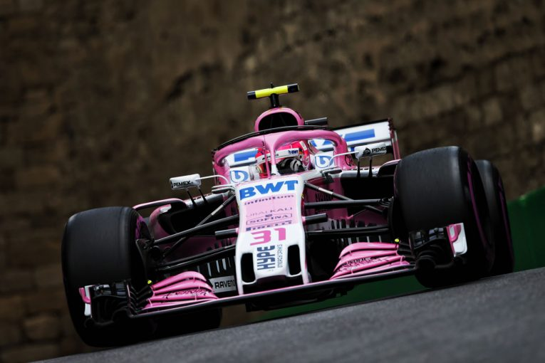 F1 | ライコネンとの接触によりリタイアしたオコン「ミスをしたのは彼の方」/フォース・インディア F1アゼルバイジャンGP日曜