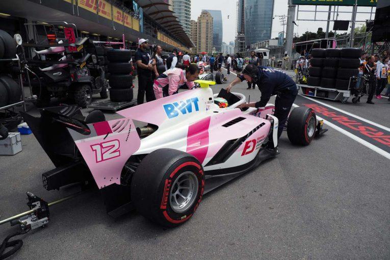 海外レース他 | F1へのステップアップを目指す福住と牧野。FIA F2第2戦バクーで直面した高く分厚い壁