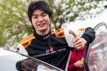 ラリー・デ・モルタグアで総合優勝を飾った新井大輝(フォード・フィエスタR5)