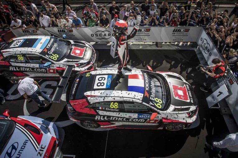 海外レース他 | WTCR:第2戦ハンガリーでFK8型ホンダ・シビック・タイプRがシリーズ初優勝