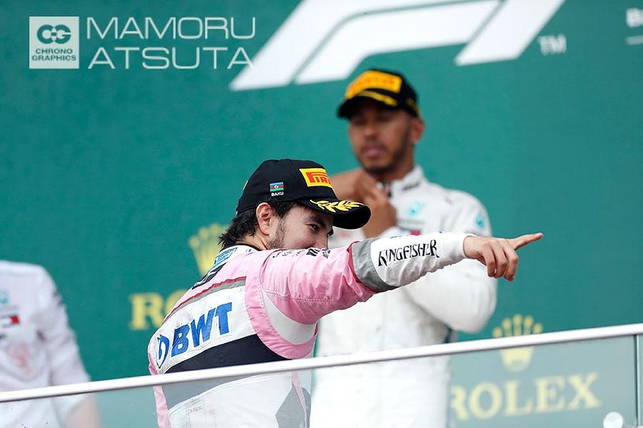 Shots!F1アゼルバイジャンGP2回目