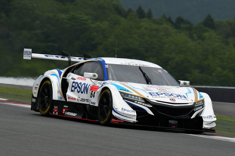 スーパーGT   Epson Nakajima Racing スーパーGT第2戦富士 決勝レポート