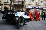 F1 | メルセデスF1、ボッタスのリタイア原因となった破片に気づくも無線での指示が間に合わなかったことを明かす