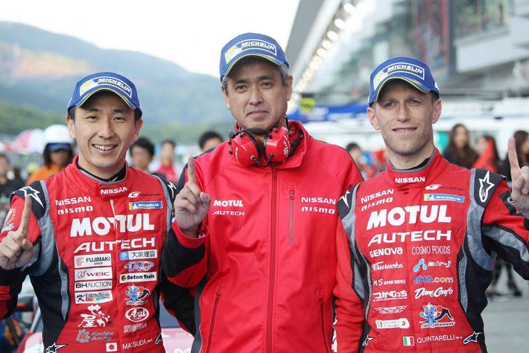 スーパーGT   クインタレッリ「次生は最多勝更新。僕は早く5回目のチャンピオンが獲りたい」/GT500優勝会見