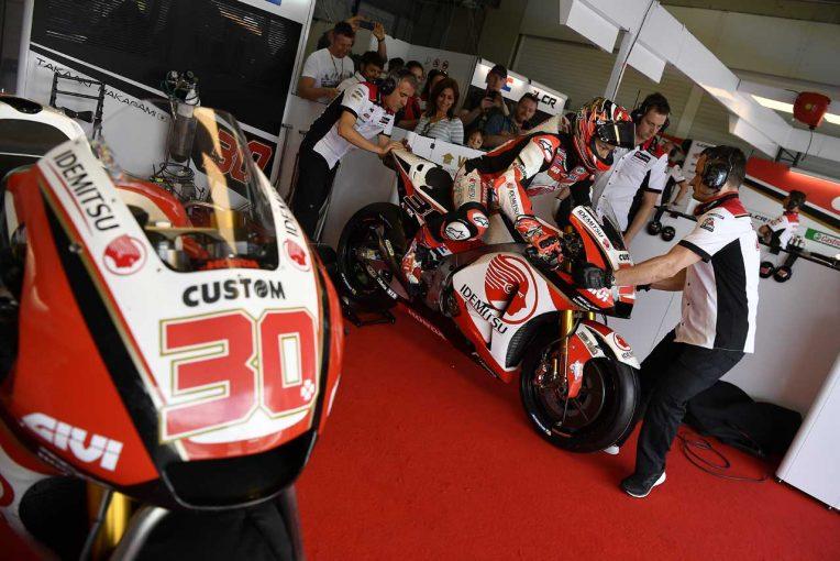 MotoGP | MotoGP:ルーキートップで初日を終えた中上、ソフトのリヤタイヤに苦戦