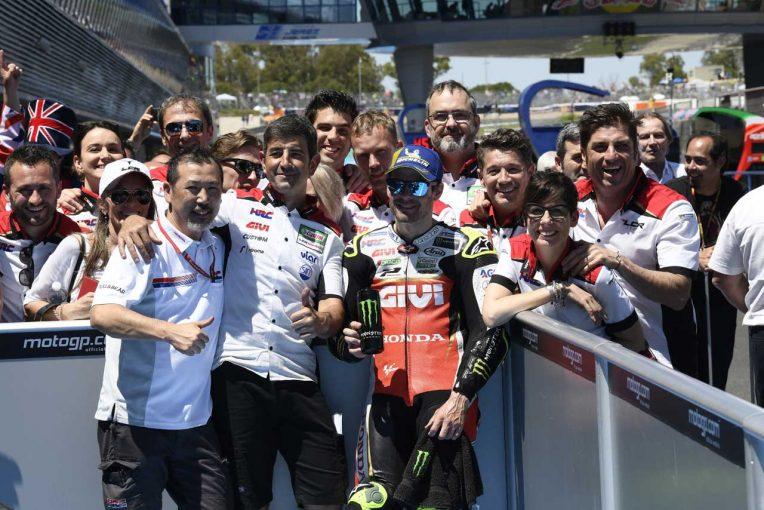 MotoGP   MotoGP:クラッチロー「再び調子が戻って来た」と目標は表彰台/スペインGP予選トップ3コメント