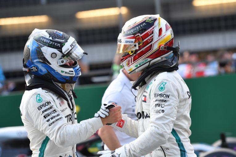 F1 | メルセデスF1、現在在籍のドライバー以外は検討外と示唆。「ハミルトンとボッタスのサポートが最優先」