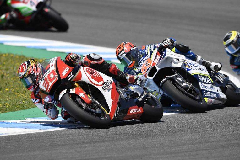 MotoGP   中上貴晶、MotoGP4戦目で自己ベストリザルト更新も今の課題は「序盤のペース」