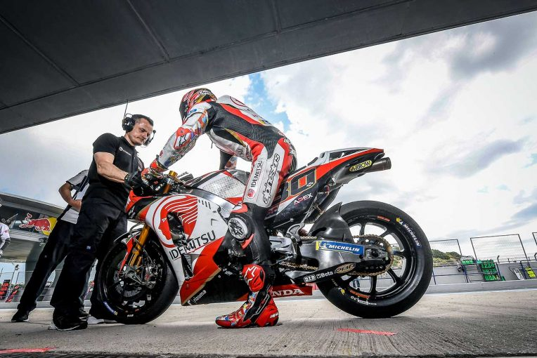 MotoGP   MotoGPへレステストはザルコが首位。中上はトップからコンマ7秒差の8番手