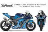 ARMY GIRL teamMF&Kawasakiの鈴鹿8耐参戦マシン