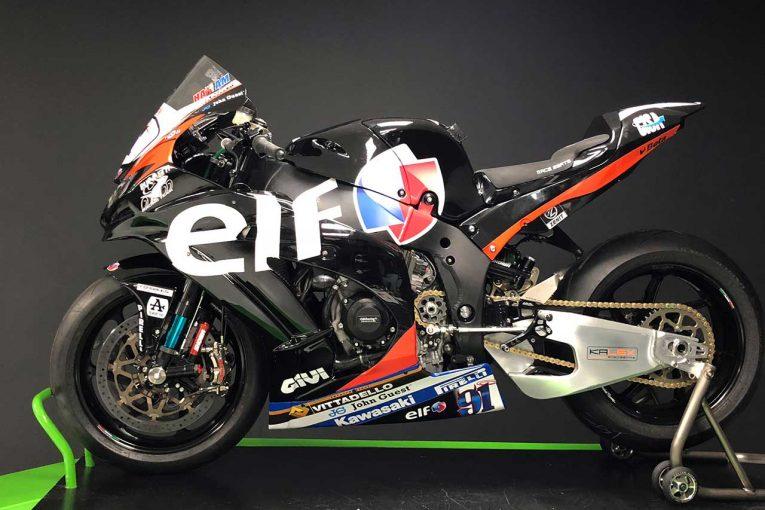 MotoGP | 鈴鹿8耐参戦ライダーのハスラム、父ロンのデザインを模したカワサキマシンでSBK2戦に参戦