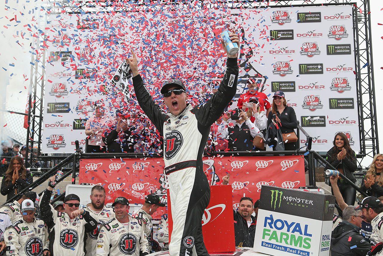 NASCAR第11戦:フォードのハービックが全ステージ制覇の完全勝利でシーズン4勝目