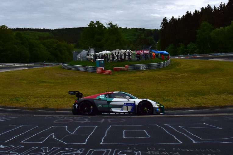 ル・マン/WEC | ニュルブルクリンク24時間:予選1回目はアウディ勢躍進。前年覇者の1号車がトップに