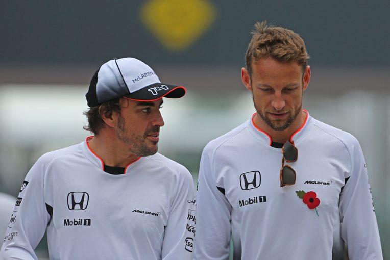 F1 | ル・マン24時間でアロンソと競うことになるバトン、アロンソを「恐るべき対戦相手」と評価