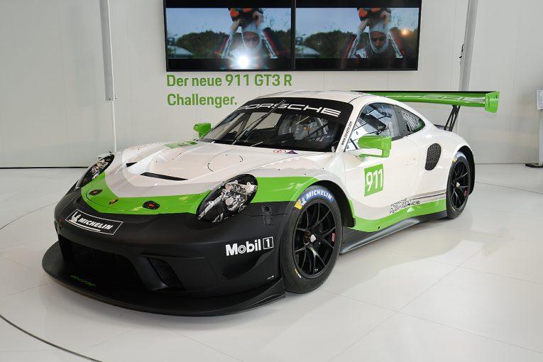 スーパーGT | GT3マーケット獲得へのニューウェポン。ポルシェ、新型911 GT3 Rをワールドプレミア