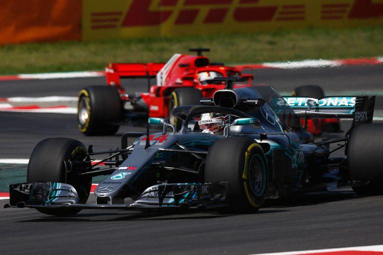 F1 | F1スペインGP FP2:ハミルトンがトップ、ガスリー14番手。キミは白煙を上げるトラブル