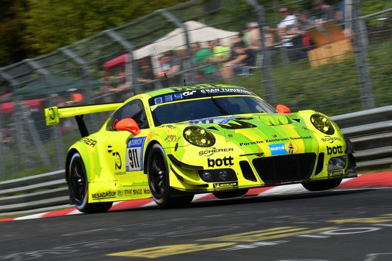 ル・マン/WEC   ニュルブルクリンク24時間はポルシェが予選トップ3を独占。マンタイ911号車がPP