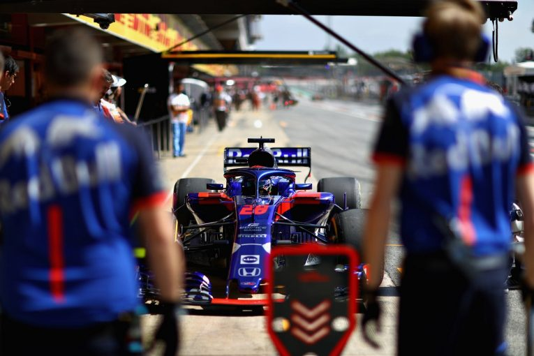 F1 | トロロッソ「2台がダメージを負って走行時間をロス。マシンの実力をタイムにつなげられず」F1スペインGP金曜