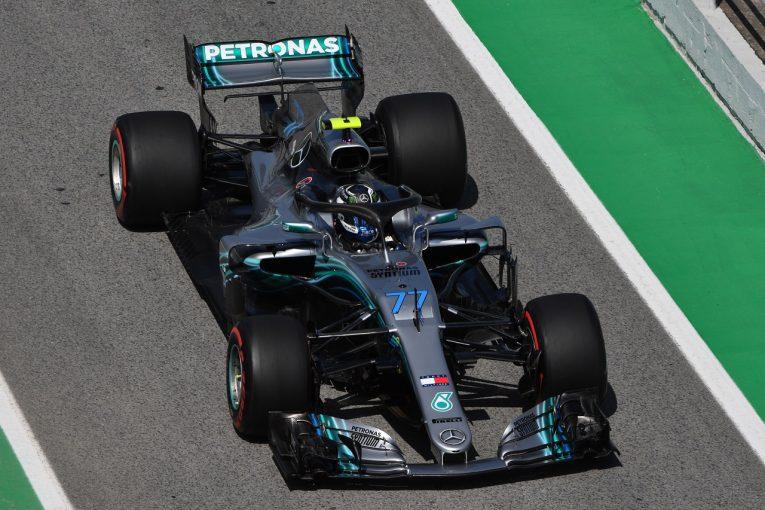 F1   ボッタス「スーパーソフトタイヤがうまく機能しない」メルセデス F1スペインGP金曜