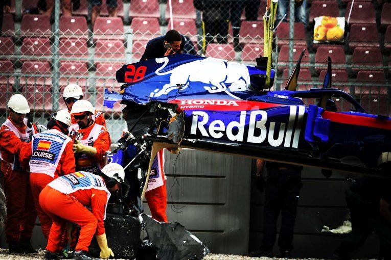 F1 | 終盤にハートレーが大クラッシュ/【タイム結果】F1第5戦スペインGP フリー走行3回目