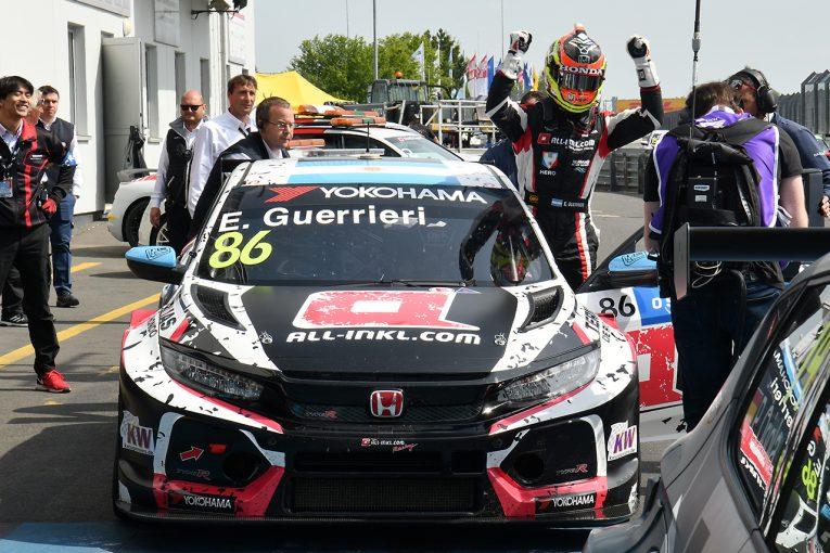 海外レース他 | WTCRニュルブルクリンク:シビック&グエリエリがR2を制す。R3はビョーク優勝
