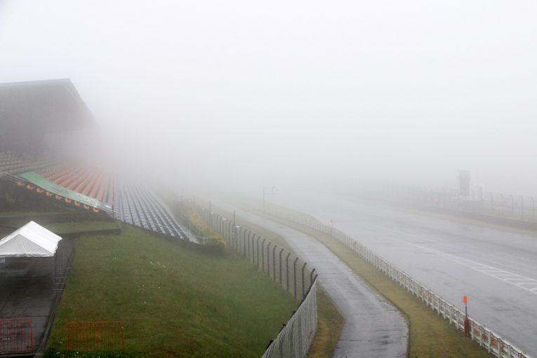 スーパーフォーミュラ   悪天候のためフリー走行がキャンセルも、決勝は14時15分スタート予定:スーパーフォーミュラ第2戦オートポリス
