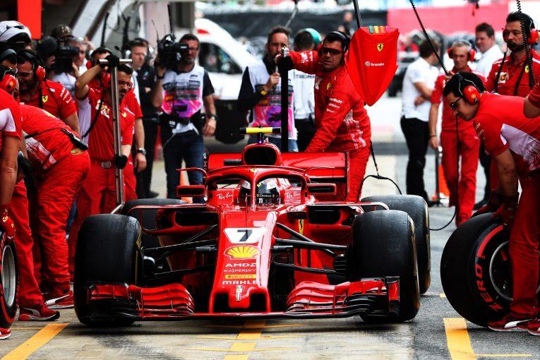 F1 | ライコネン「ミスして失うものがなかったから、タイヤ戦略を変えた」 F1スペインGP土曜