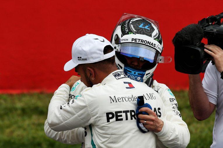 F1   ボッタス「僅差でポールを逃して悔しいが、決勝で戦える自信がある」F1スペインGP土曜