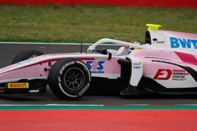 海外レース他 | FIA F2第3戦スペイン レース2:福住と牧野が接触しリタイア。レースはエイトケンが制す