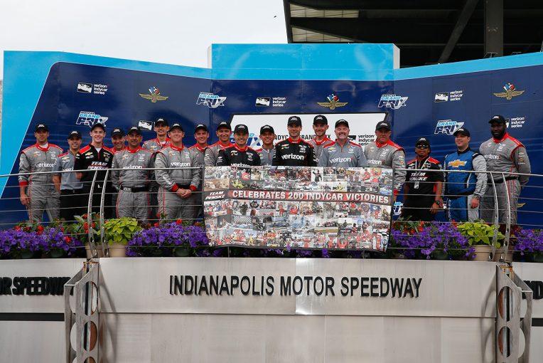 海外レース他   インディカー200勝達成の総帥ロジャー・ペンスキー「今重要なのは201回目の勝利だ」