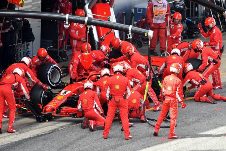 F1 | ベッテル「戦略上のミスではない。2回ストップにせざるを得なかった」F1スペインGP日曜