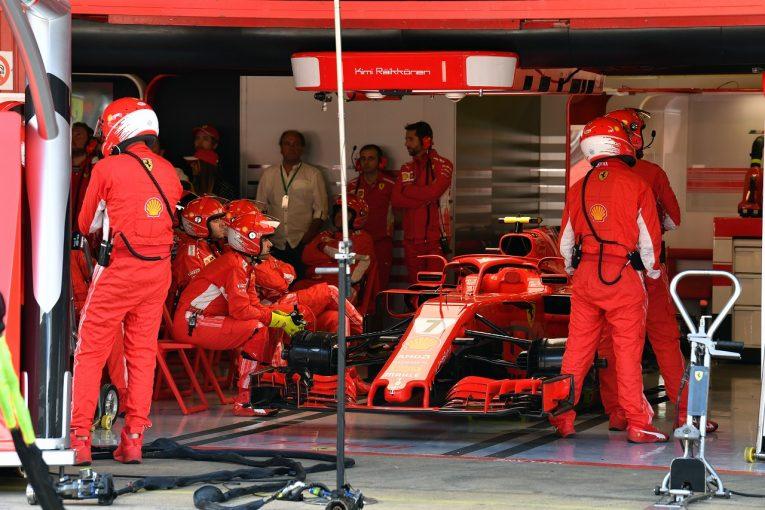 F1   ライコネン「パワーを失いリタイア。タイトル争いにおいて大きな痛手に」F1スペインGP日曜
