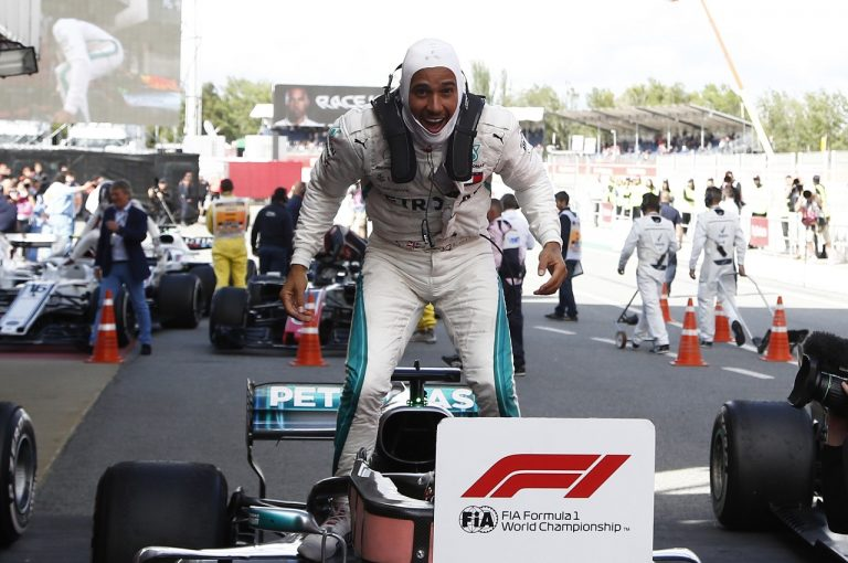 F1 | ハミルトン今季2勝目「誰もついてこないからびっくりした。以前の調子を取り戻しつつある」F1スペインGP日曜
