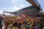 MotoGPイタリアグランプリでの『セレブレーションアリーナ』。この光景が日本グランプリでも見られるように