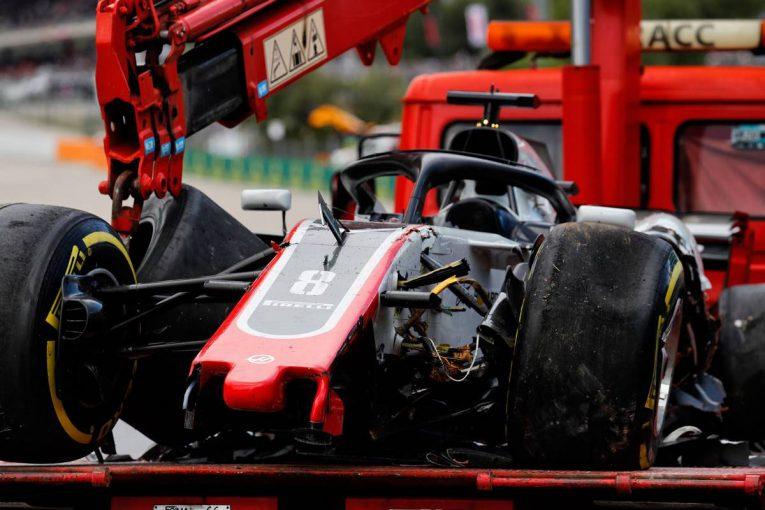 F1 | グロージャン「アクシデントに巻き込まれた人たちには申し訳ない」ハース F1スペインGP日曜