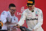 F1 | F1 Topic:ボッタスの走りをメルセデスが称賛。スペインGPで2位表彰台獲得となった舞台裏