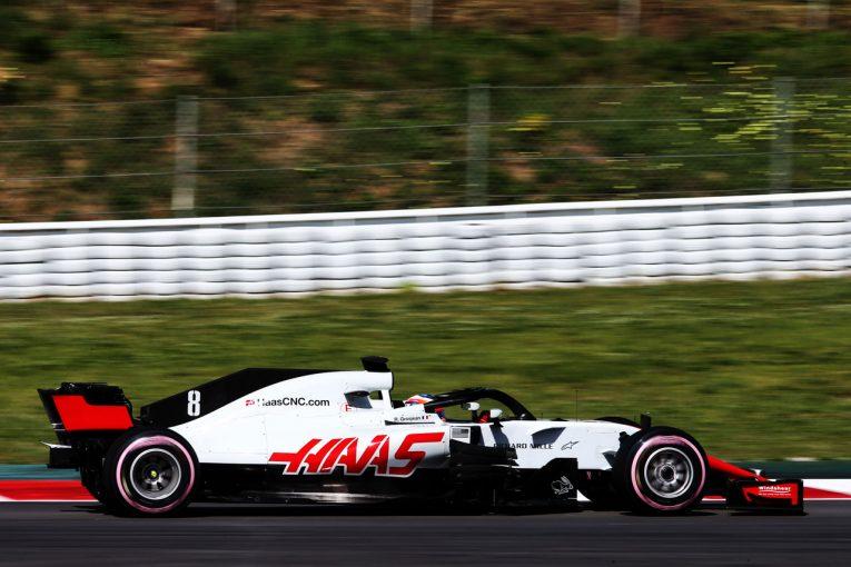 F1 | 【F1合同テスト デイ1午前・タイム結果】グロージャンがトップタイム