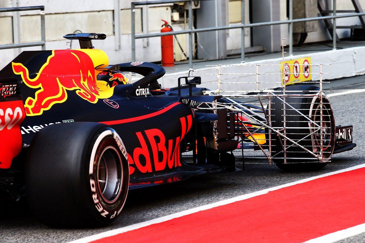 2018年F1バルセロナ・インシーズンテスト マックス・フェルスタッペン(レッドブル)