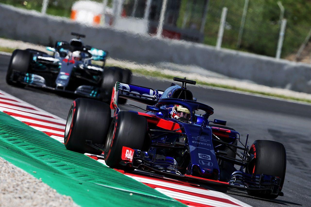 2018年F1バルセロナ・インシーズンテスト ショーン・ゲラエル(トロロッソ・ホンダ)