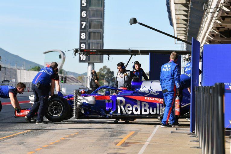 F1 | ホンダF1副TD「シャシー関連のトラブルの影響でパワーユニットを交換。2日目に遅れを取り戻したい」/テスト デイ1