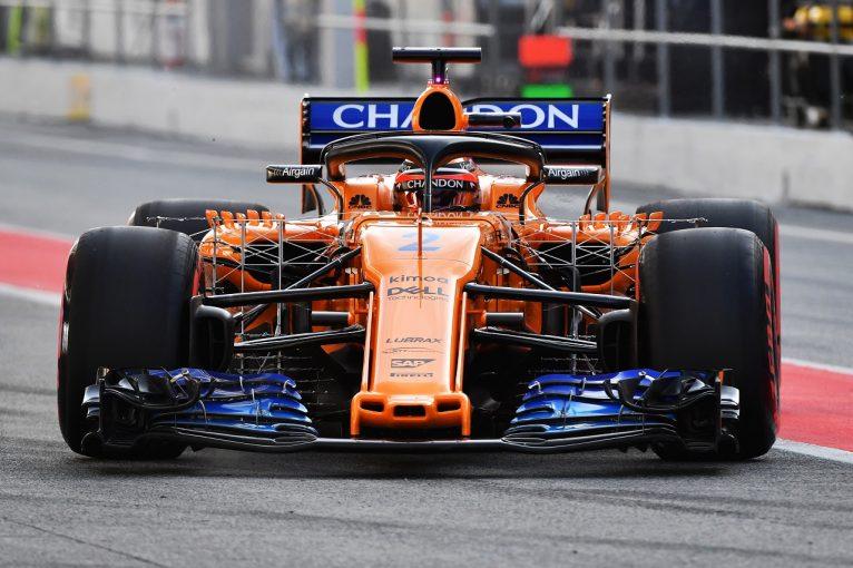 F1 | マクラーレンのバンドーン、新エアロパッケージのテストに取り組み「ポジティブな一日」