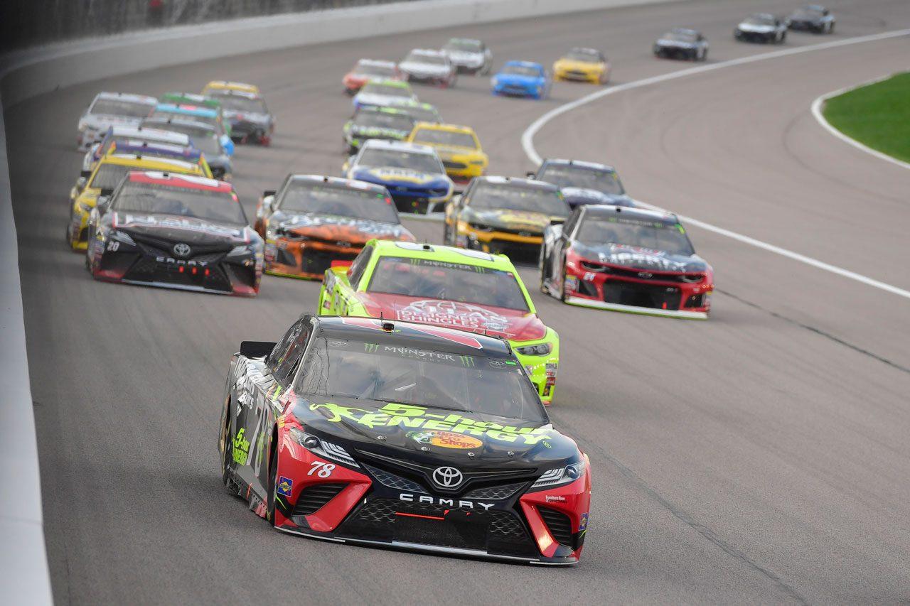 NASCAR:TOYOTA GAZOO Racing 2018第12戦カンザス レースレポート